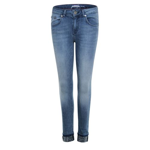 Poools ladieswear trousers -  Jeans 5 pocket. Available in size 40,42,44 (blue,multicolor)