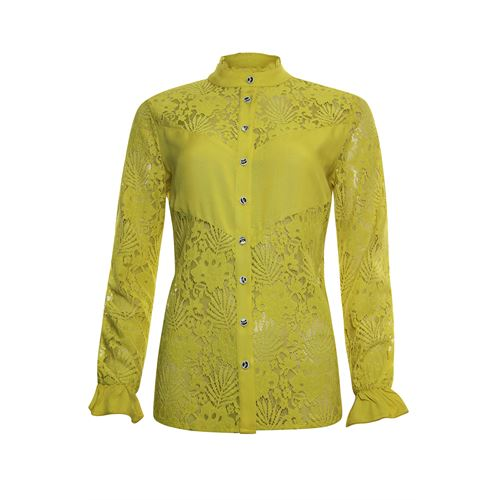 Poools ladieswear blouses & tunics -  Blouse lace. Available in size 40,42,44 (yellow)