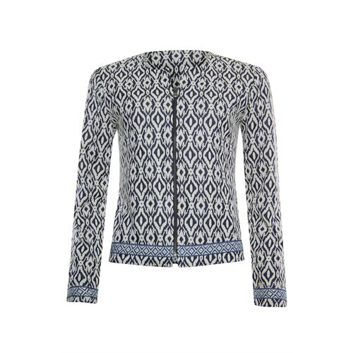 Poools ladieswear coats & jackets -  Jacket jacquard. Available in size 36,38,40,42,44,46 (blue)
