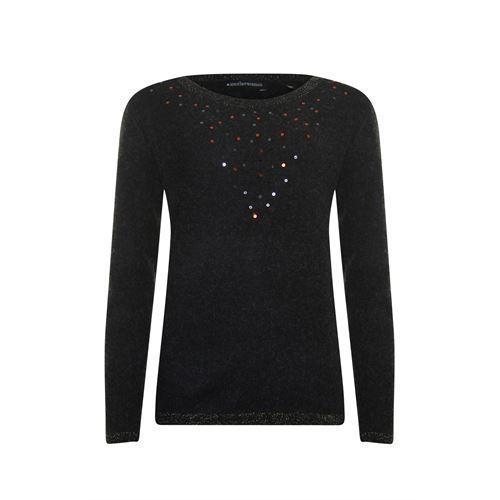 Anotherwoman dameskleding truien & vesten - pullover. beschikbaar in maat 40,44,46 (zwart)