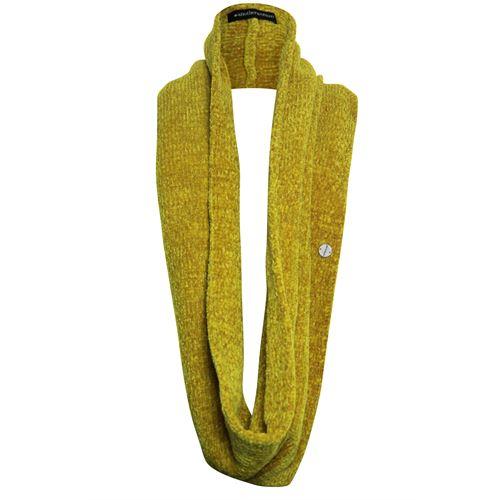 Anotherwoman dameskleding accessoires - sjaal kol. beschikbaar in maat one size (geel)
