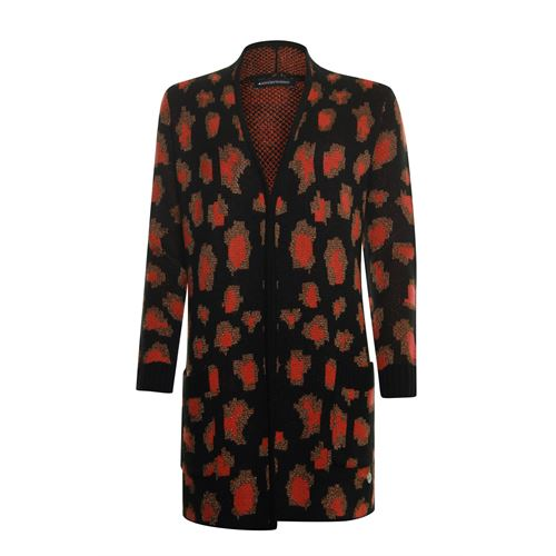 Anotherwoman dameskleding truien & vesten - vest leopard. beschikbaar in maat 36 (multicolor)