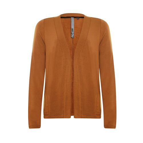 Poools dameskleding truien & vesten - vest micromodal. beschikbaar in maat 40 (bruin)