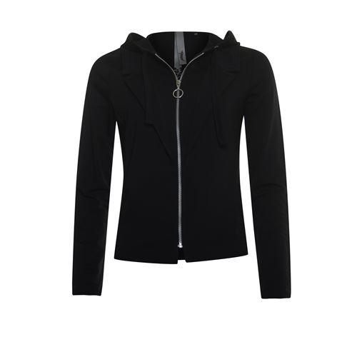Poools dameskleding jassen & blazers - jacket hood. beschikbaar in maat 36,38,44 (zwart)