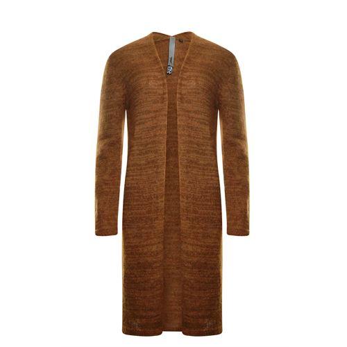Poools dameskleding truien & vesten - cardigan mohair. beschikbaar in maat 36,38,40,42,44 (bruin)