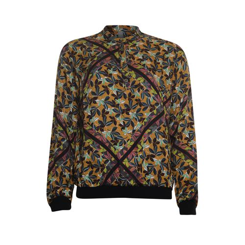 Poools ladieswear blouses & tunics - printed blouse viscose. available in size 38,40,44 (multicolor)