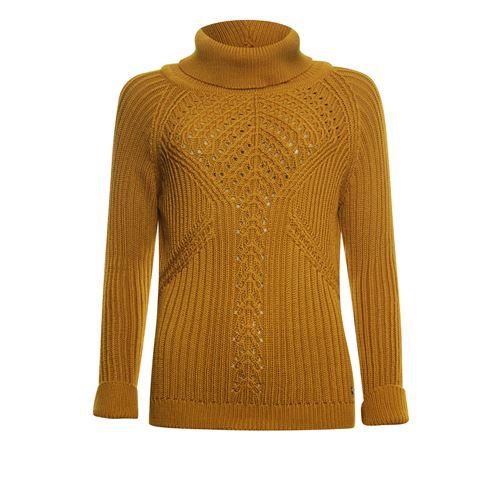 Poools dameskleding truien & vesten - knitted pullover. beschikbaar in maat 44,46 (oranje)