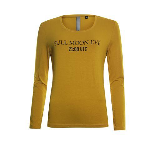 Poools dameskleding t-shirts & tops - t-shirt longsleeve. beschikbaar in maat 38,40,42 (oranje)