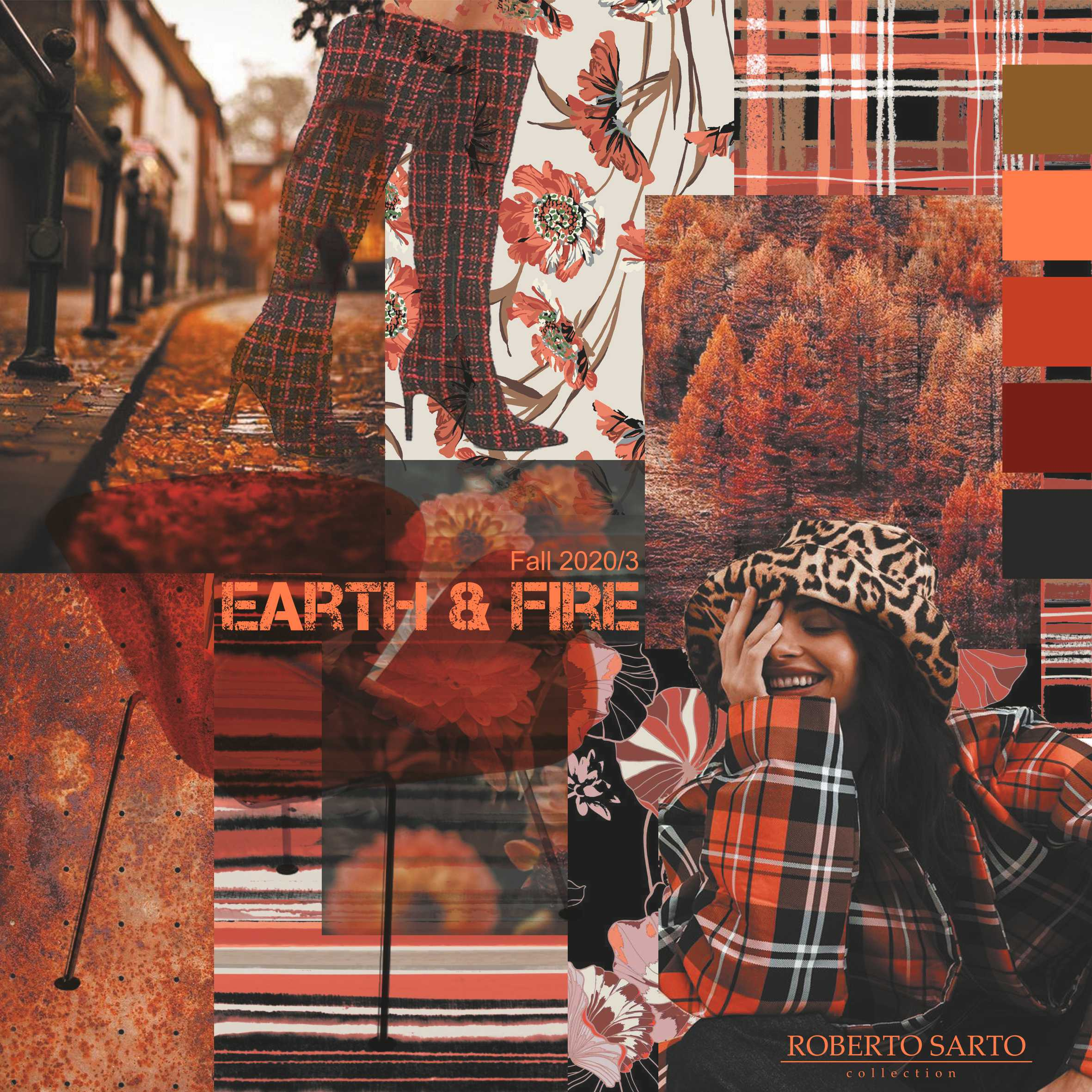 Colourmood Earth & Fire voor 2e uitlevering Fall 2020